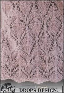 breipatroon sjaal