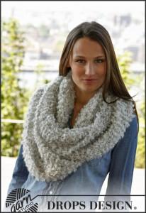 makkelijk breipatroon Big Puddel col sjaal
