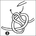 steken opzetten breien stap 3