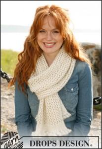breipatroon voor sjaal