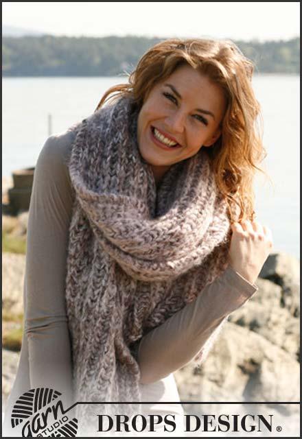 gebreide sjaal breipatroon voor breien