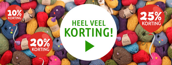 korting wol garens aanbieding breiwebshop.nl